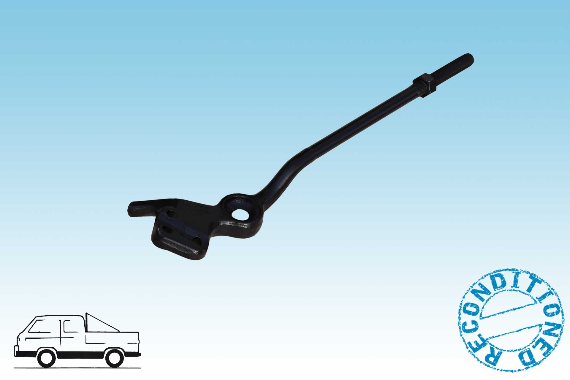 Radius rod arm Bus Vanagon left