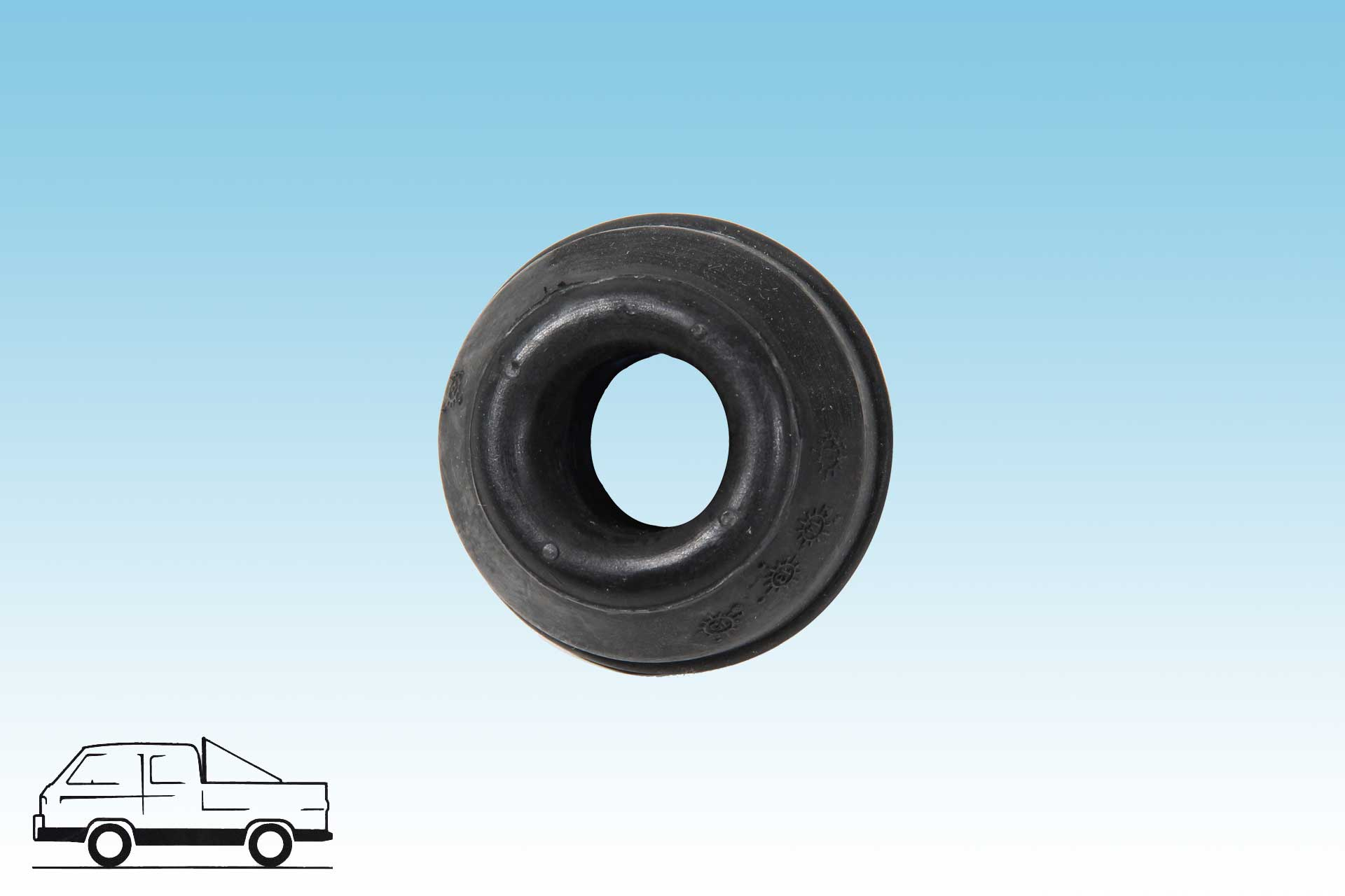 Radius Arm Bushing Outer Bus Vanagon
